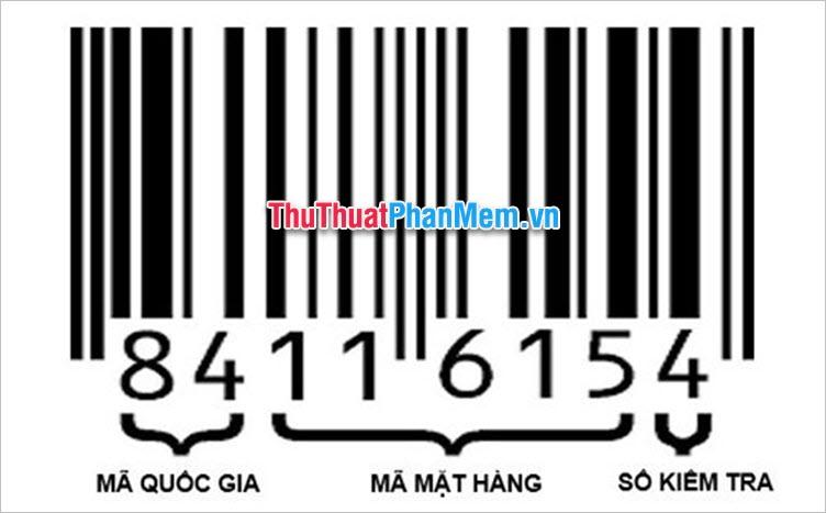Cách đọc mã vạch EAN-8