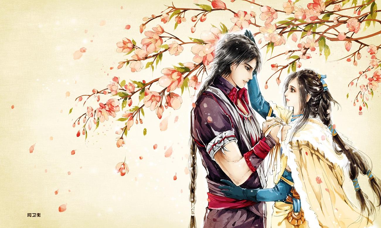 Hình ảnh anime cổ trang đẹp mắt