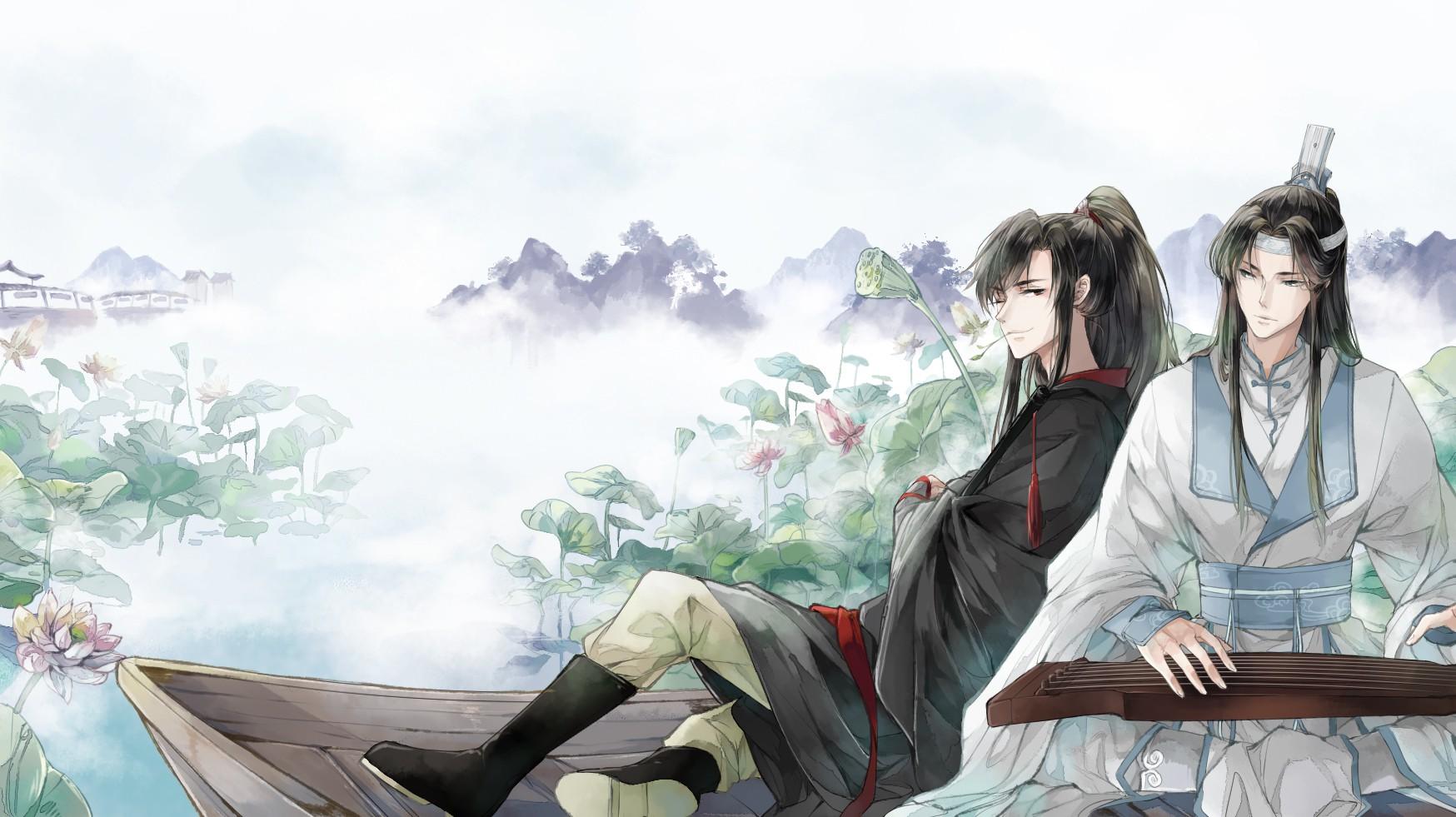 Hình ảnh anime cổ trang Ma Đạo Tổ Sư cực đẹp