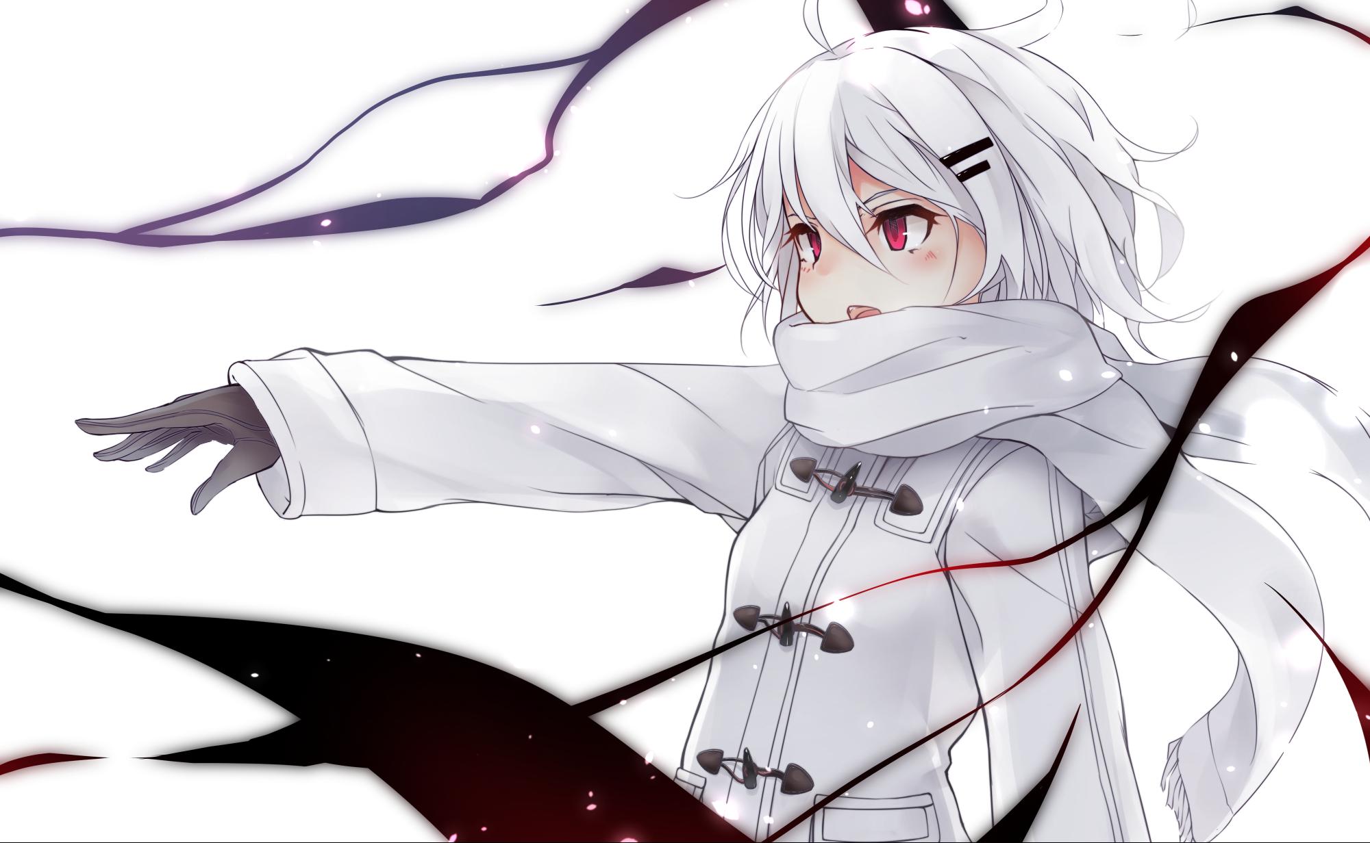 Hình ảnh anime tóc bạch kim quyền năng siêu nhiên