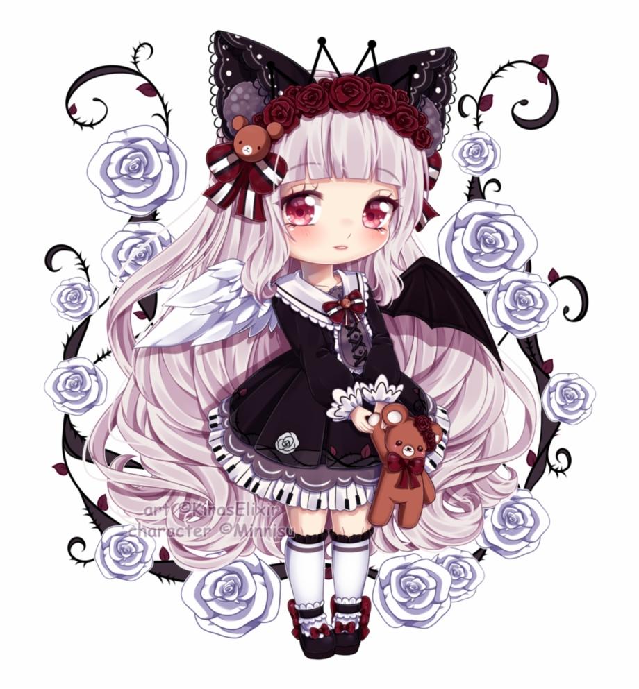 Hình ảnh mèo anime chibi đẹp