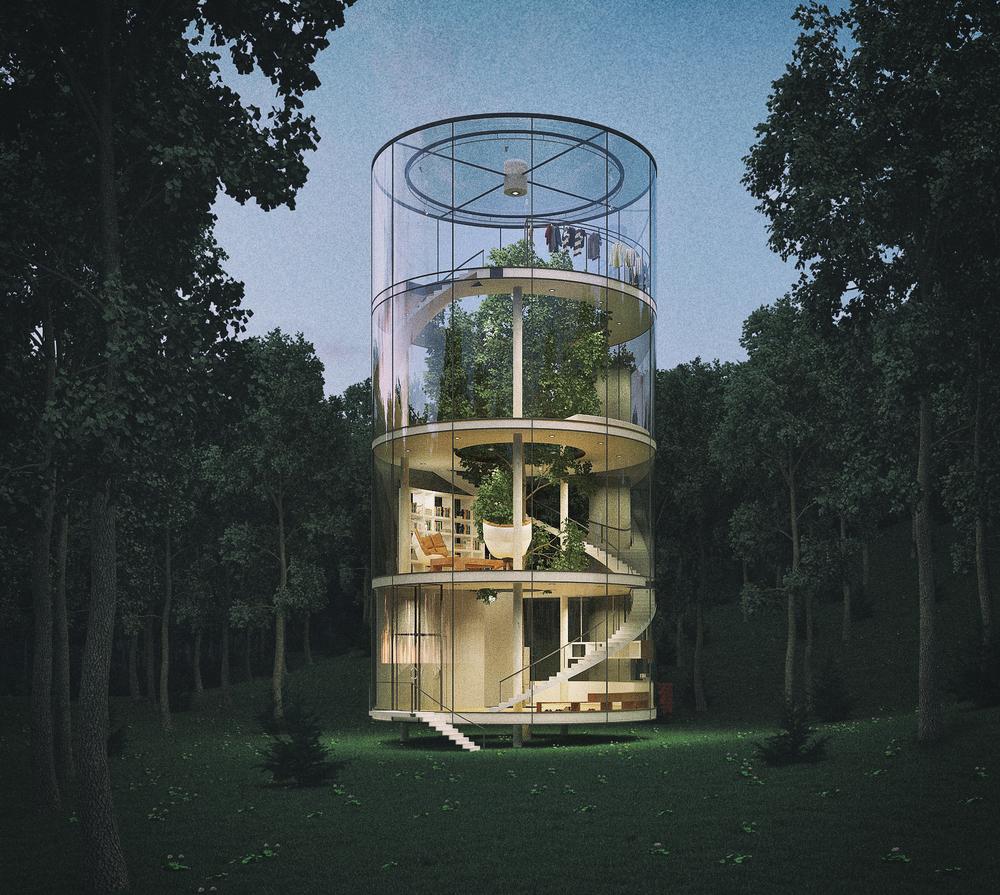 Hình ảnh nhà kính chứa cây cực đẹp