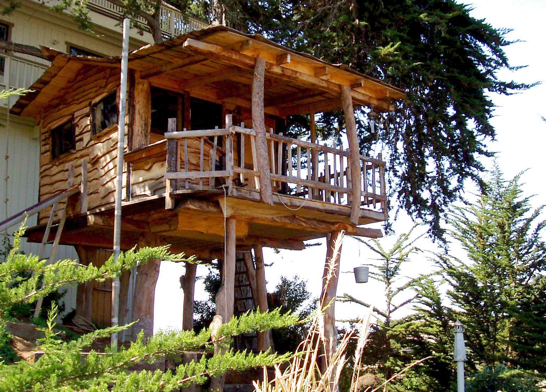 Hình ảnh nhà trên cây cột rất đẹp