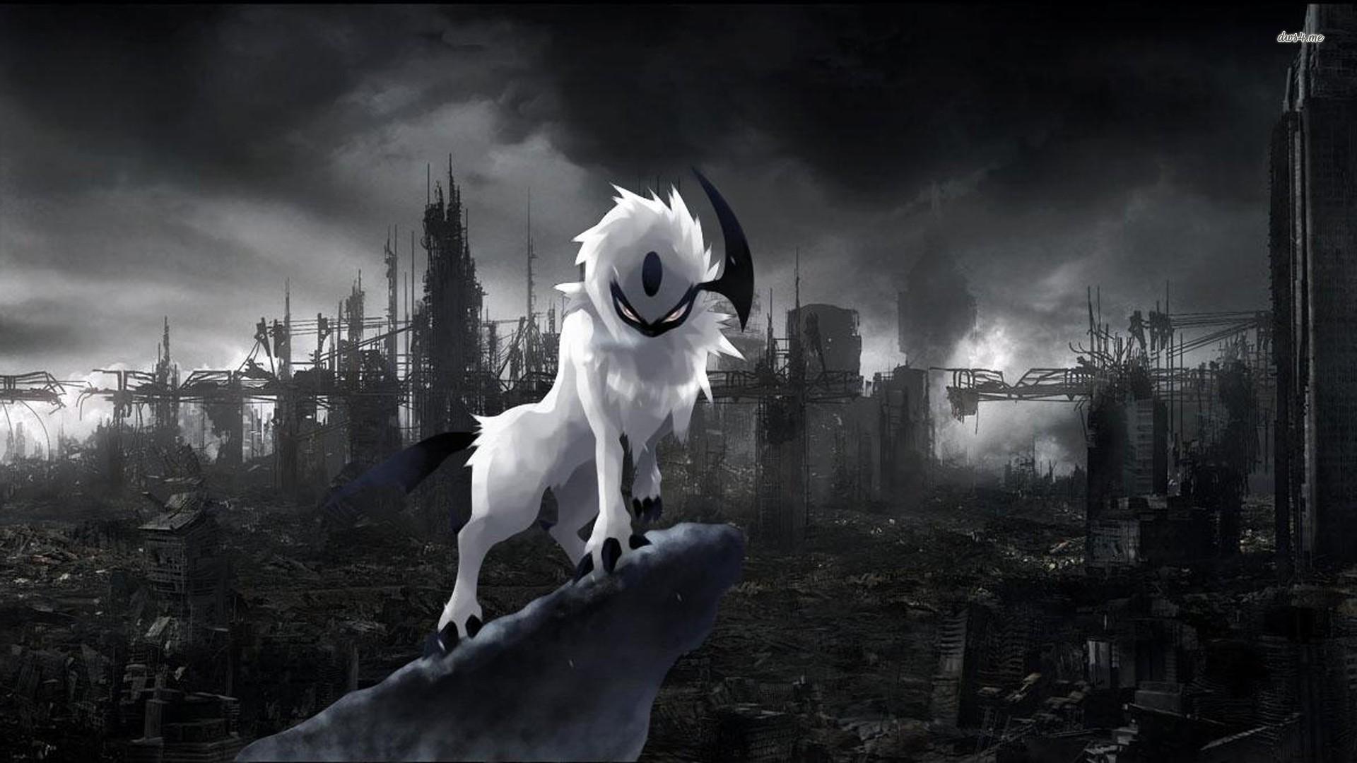 Hình nền anime đen trắng cực đẹp