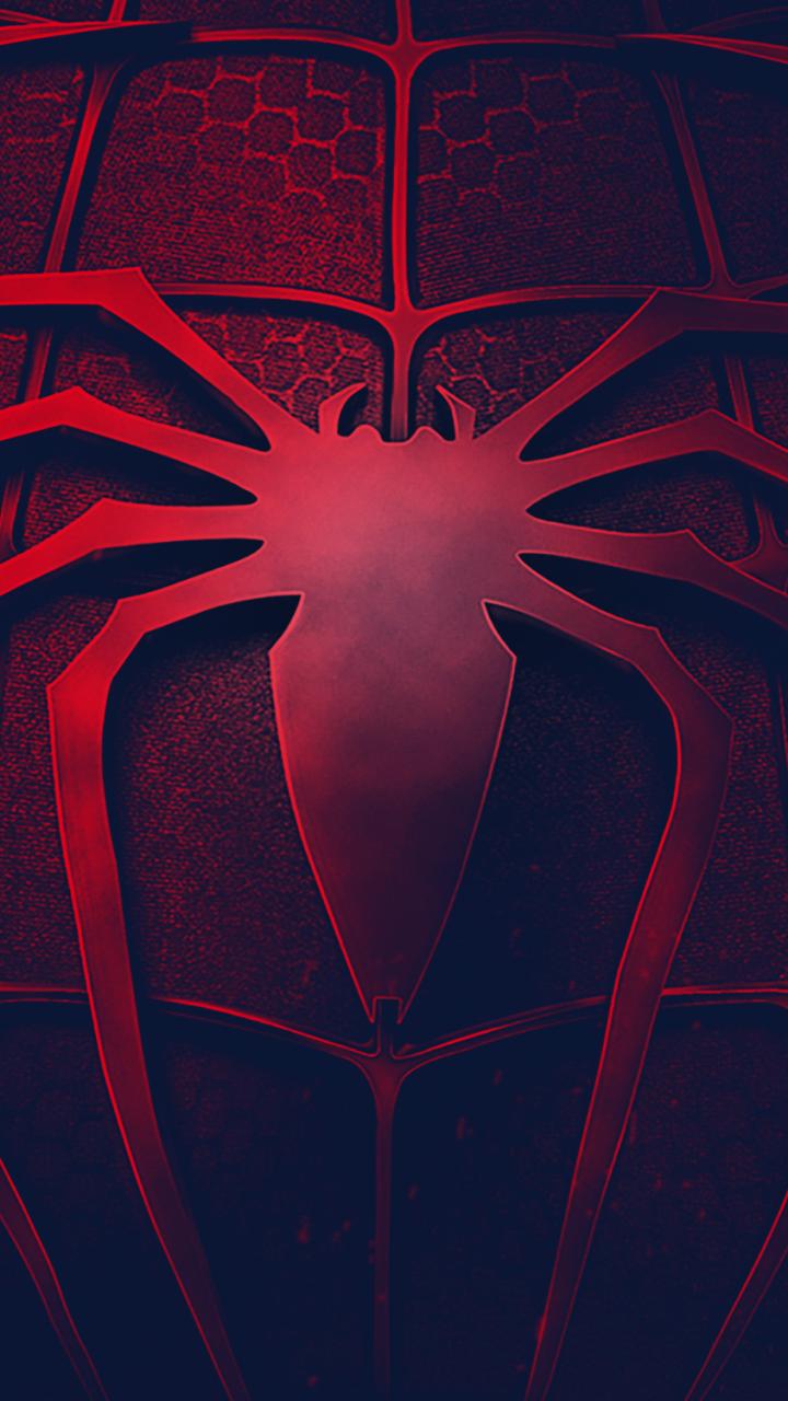 Hình nền điện thoại Spiderman đỏ đen cực đẹp