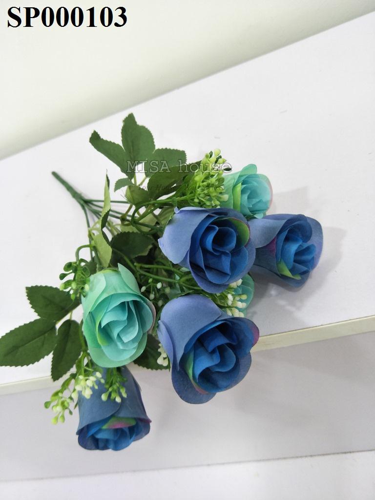 Hình những bông hồng xanh