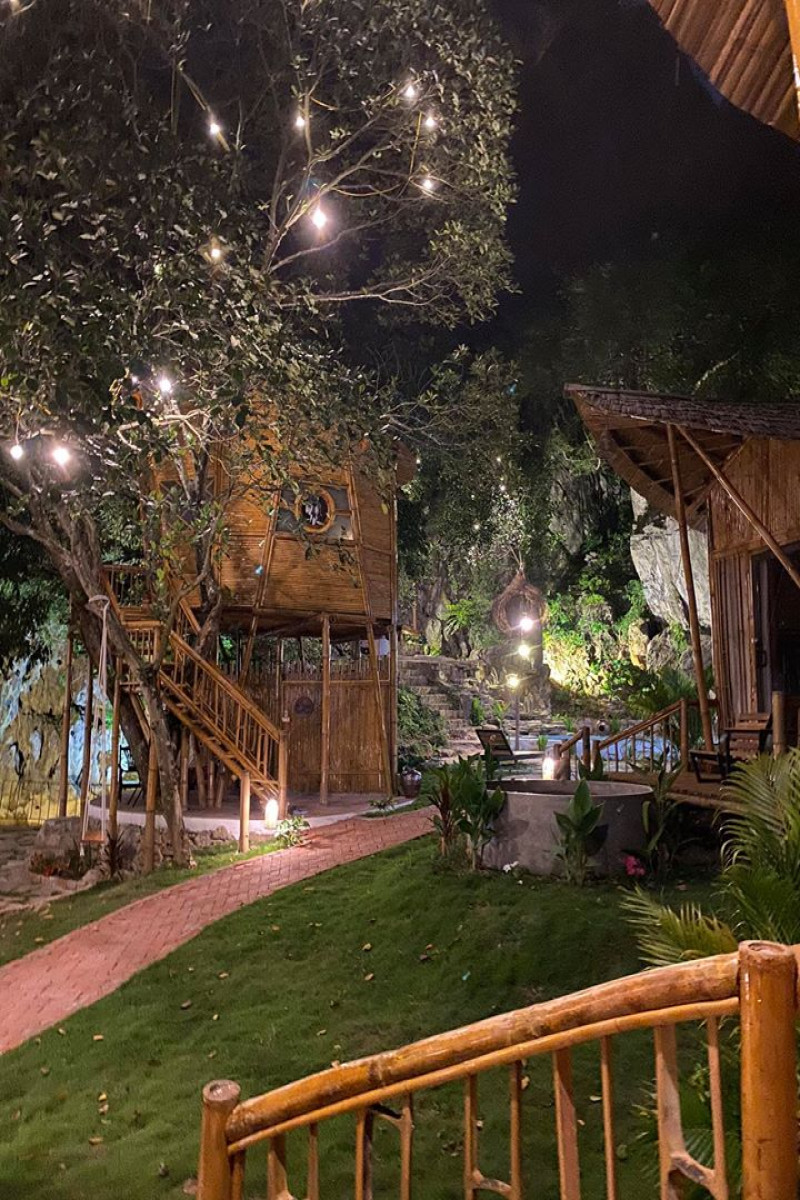 Khu tổ hợp nhà trên cây rất đẹp