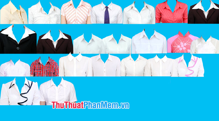 Mẫu áo sơ mi nữ học sinh