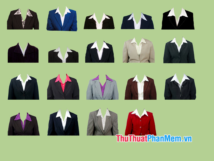 Mẫu áo vest nữ