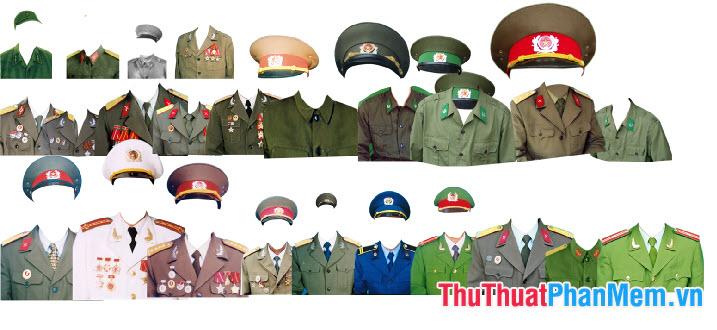 Mẫu trang phục quân đội
