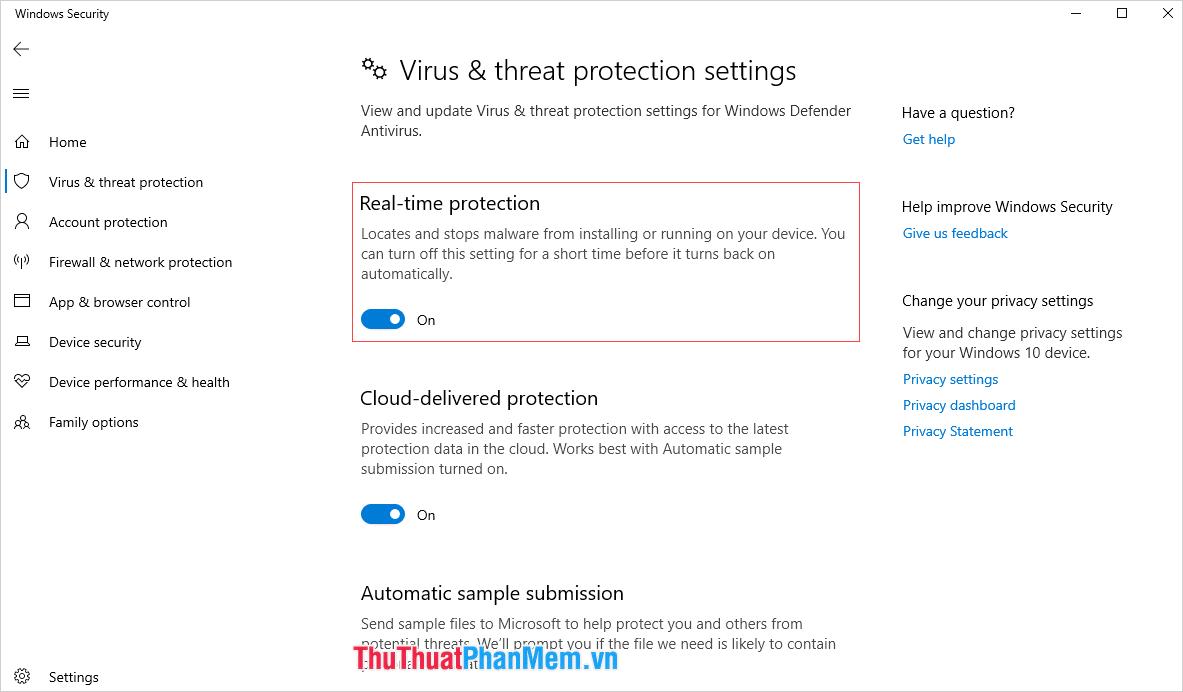 Windows Defender được xây dựng dựa theo phương thức bảo mật thệ thống thông qua việc quét dữ liệu và bảo vệ theo thời gian thực