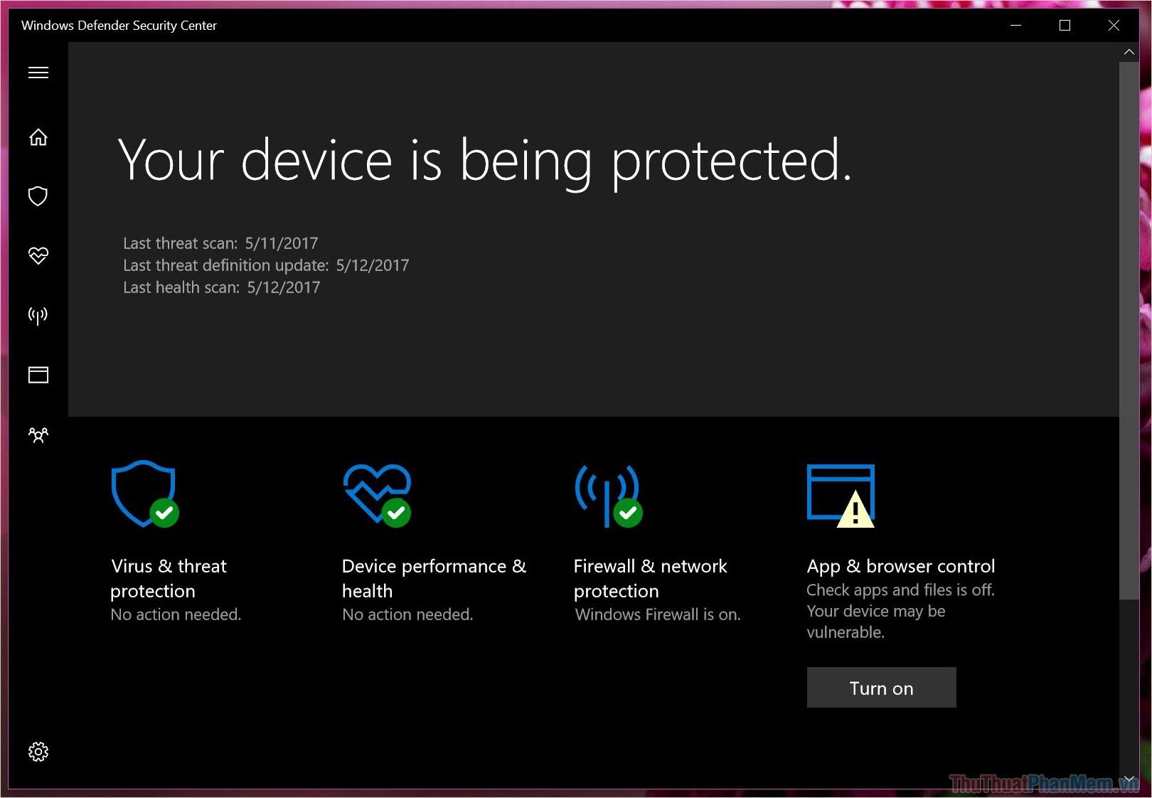 Windows Defender trước đây được đặt tên là Microsoft AntiSpyware