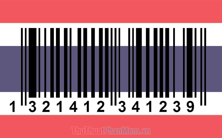 Mã vạch của Thái Lan là bao nhiêu? Cách kiểm tra mã vạch Thái Lan
