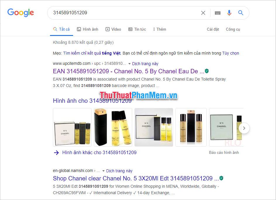 Nếu nhãn hàng thật thì bạn sẽ tìm thấy được những thông tin liên quan tới mặt hàng đó trên rất nhiều trang web bán hàng