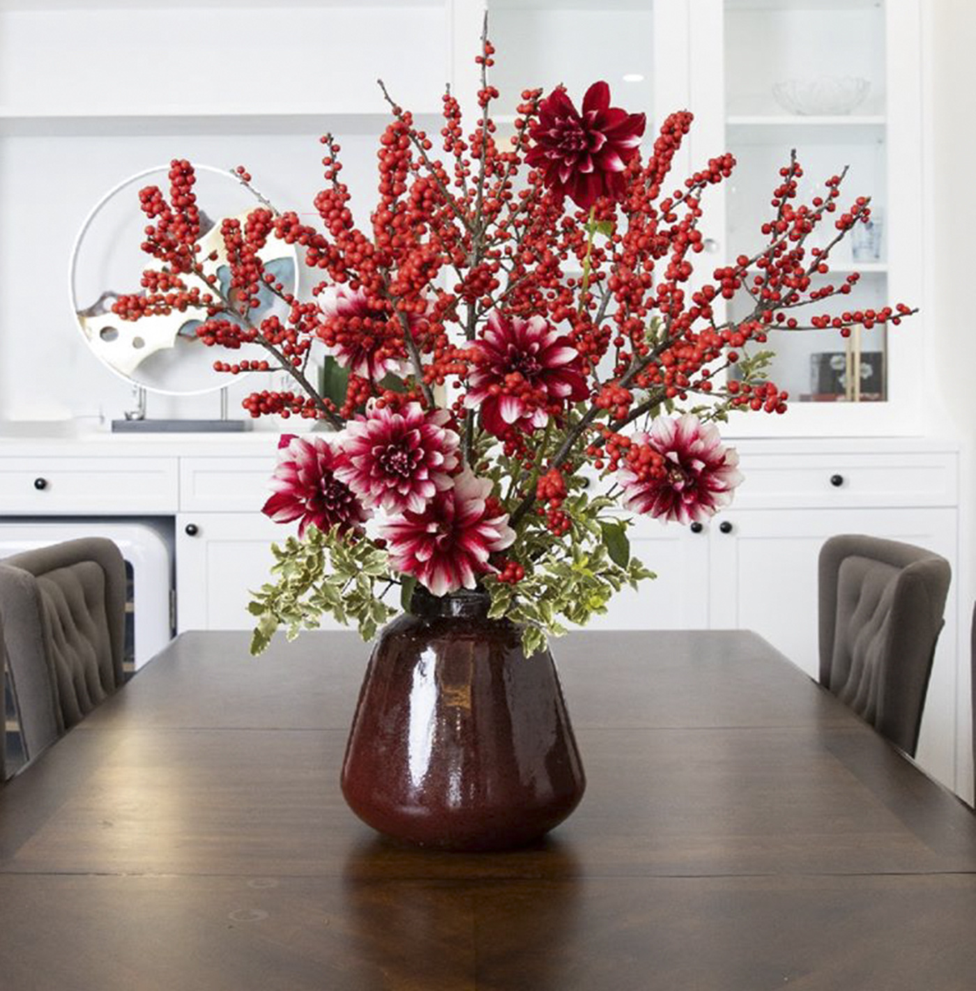 Chậu cây hoa thược dược cực đẹp