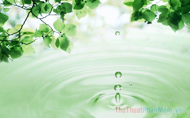 Hình nền nước đẹp