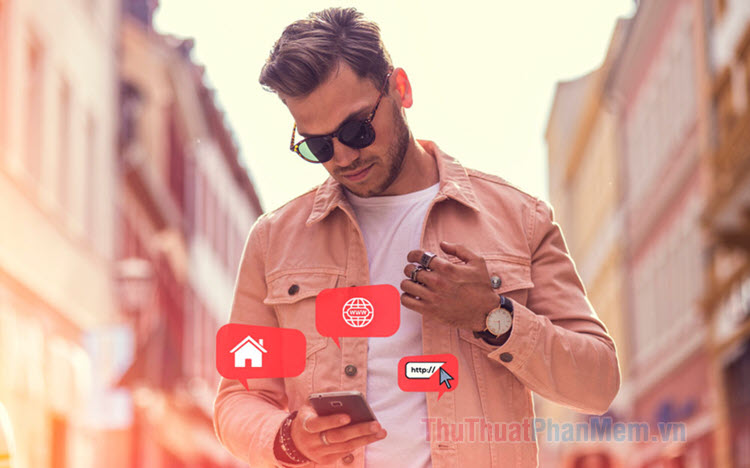Cách đưa 1 website ra màn hình điện thoại iPhone, Android để truy cập cho nhanh