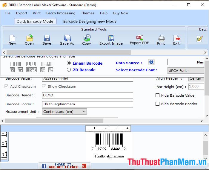DRPU Barcode Label Maker