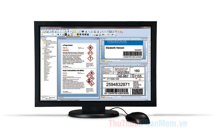 Hướng dẫn tạo và in mã vạch bằng phần mềm BarTender Barcode