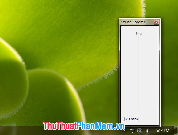 Sử dụng phần mềm Sound Booster