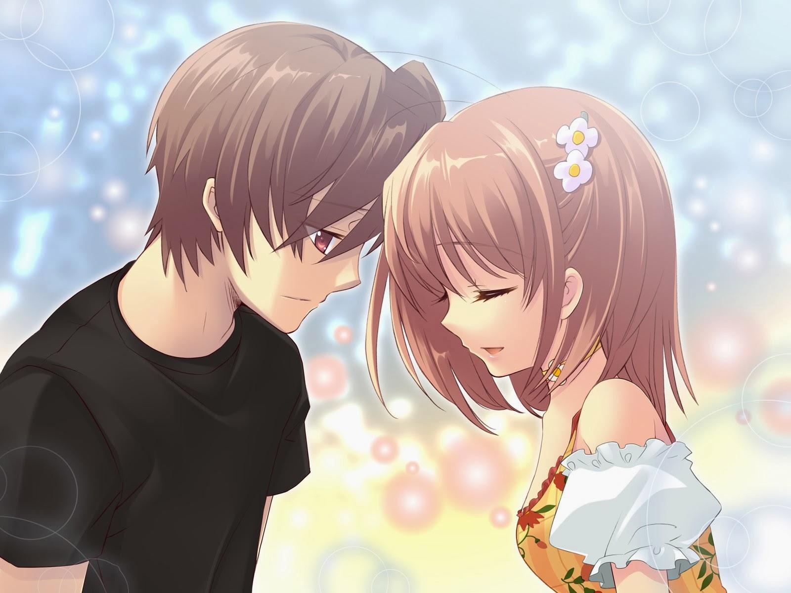 Ảnh hoạt hình cặp đôi dễ thương
