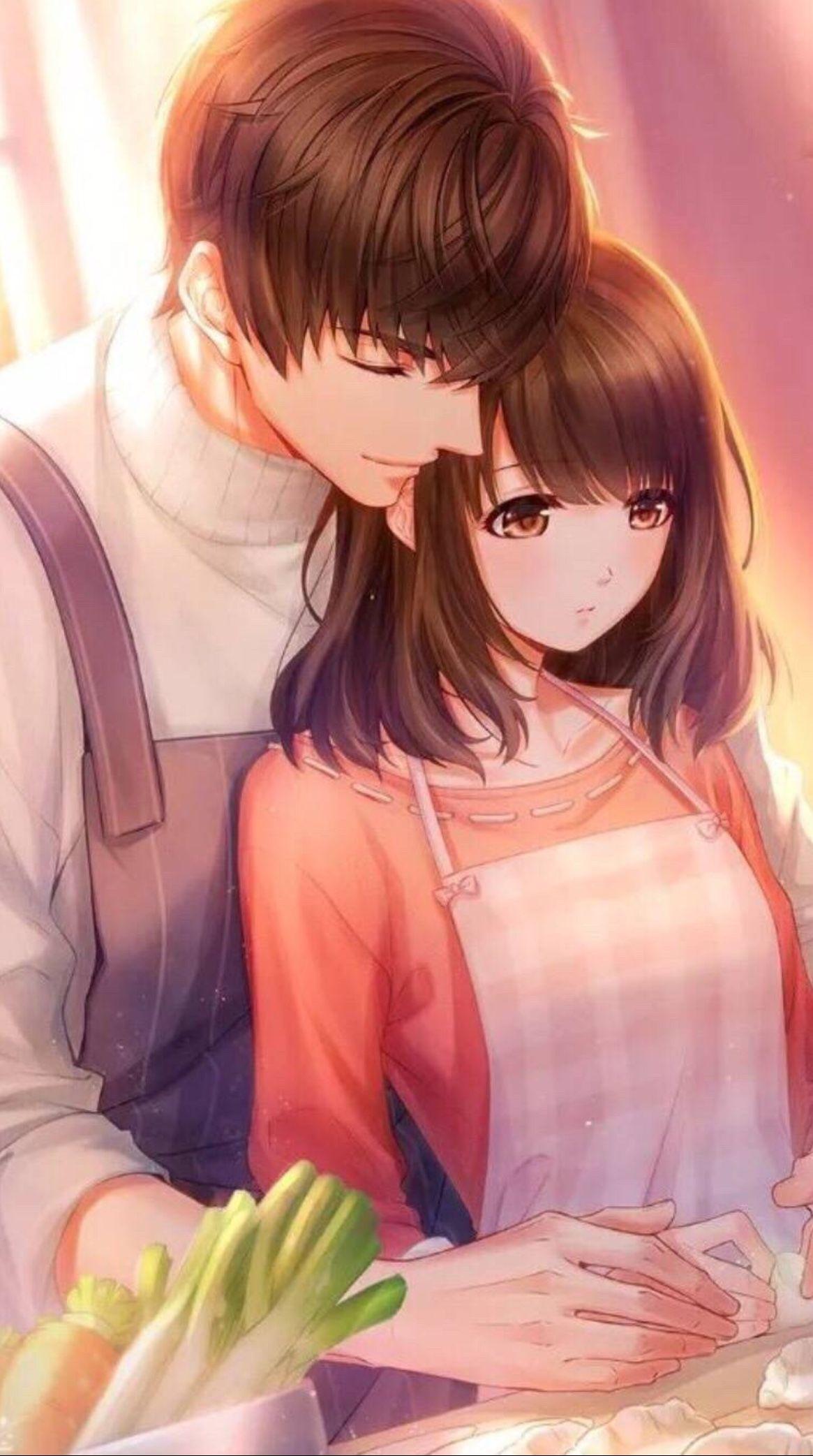 Ảnh hoạt hình đẹp về tình yêu