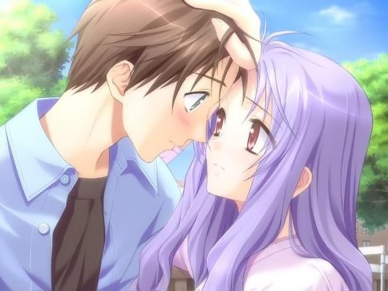 Ảnh hoạt hình tình yêu anime