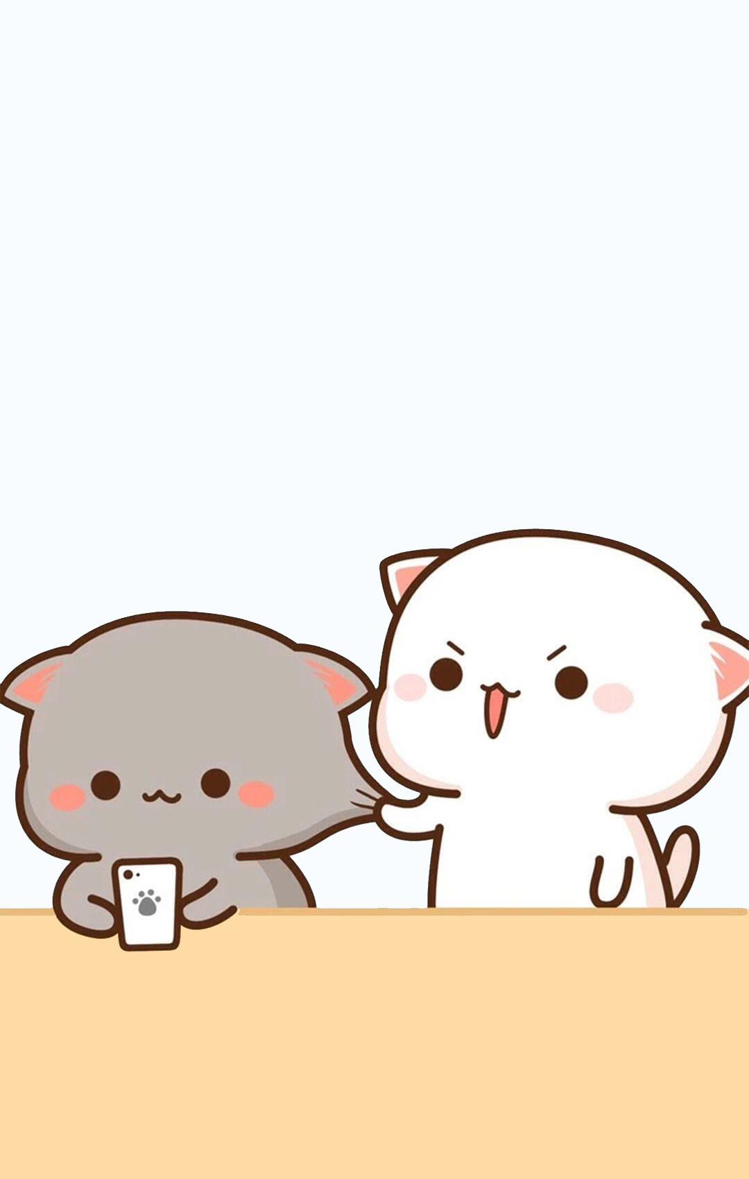Hình ảnh hoạt hình cute về tình yêu