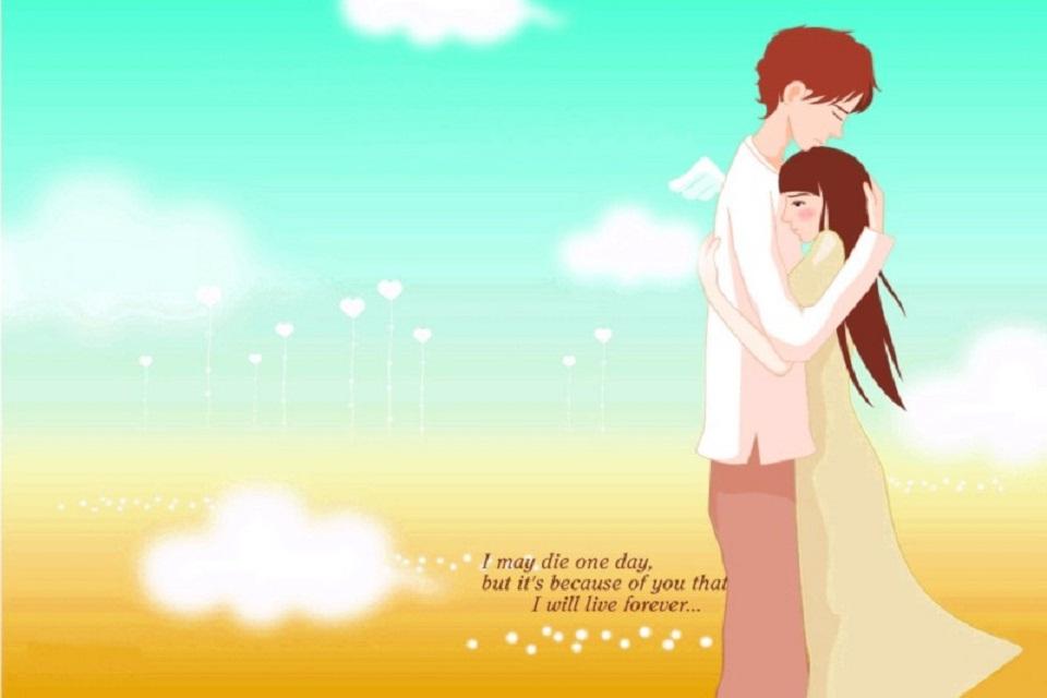 Hình ảnh hoạt hình tình yêu đẹp nhất