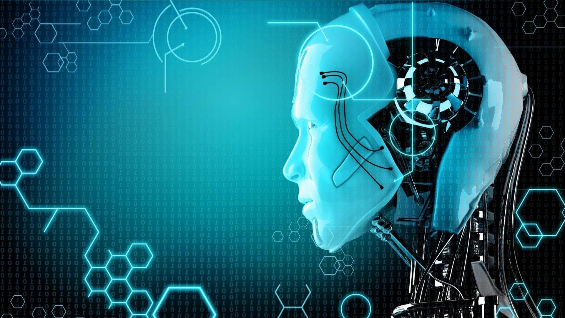Hình nền công nghệ AI