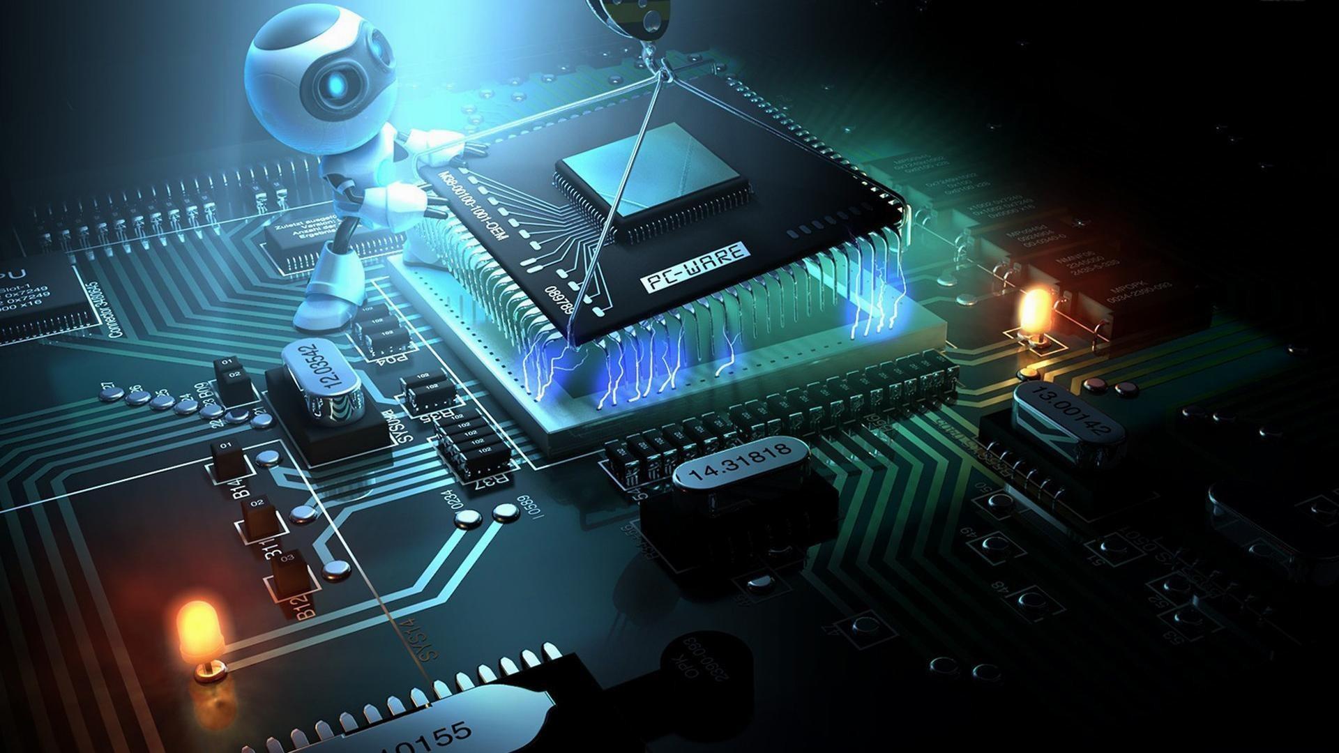 Hình nền công nghệ vi xử lý