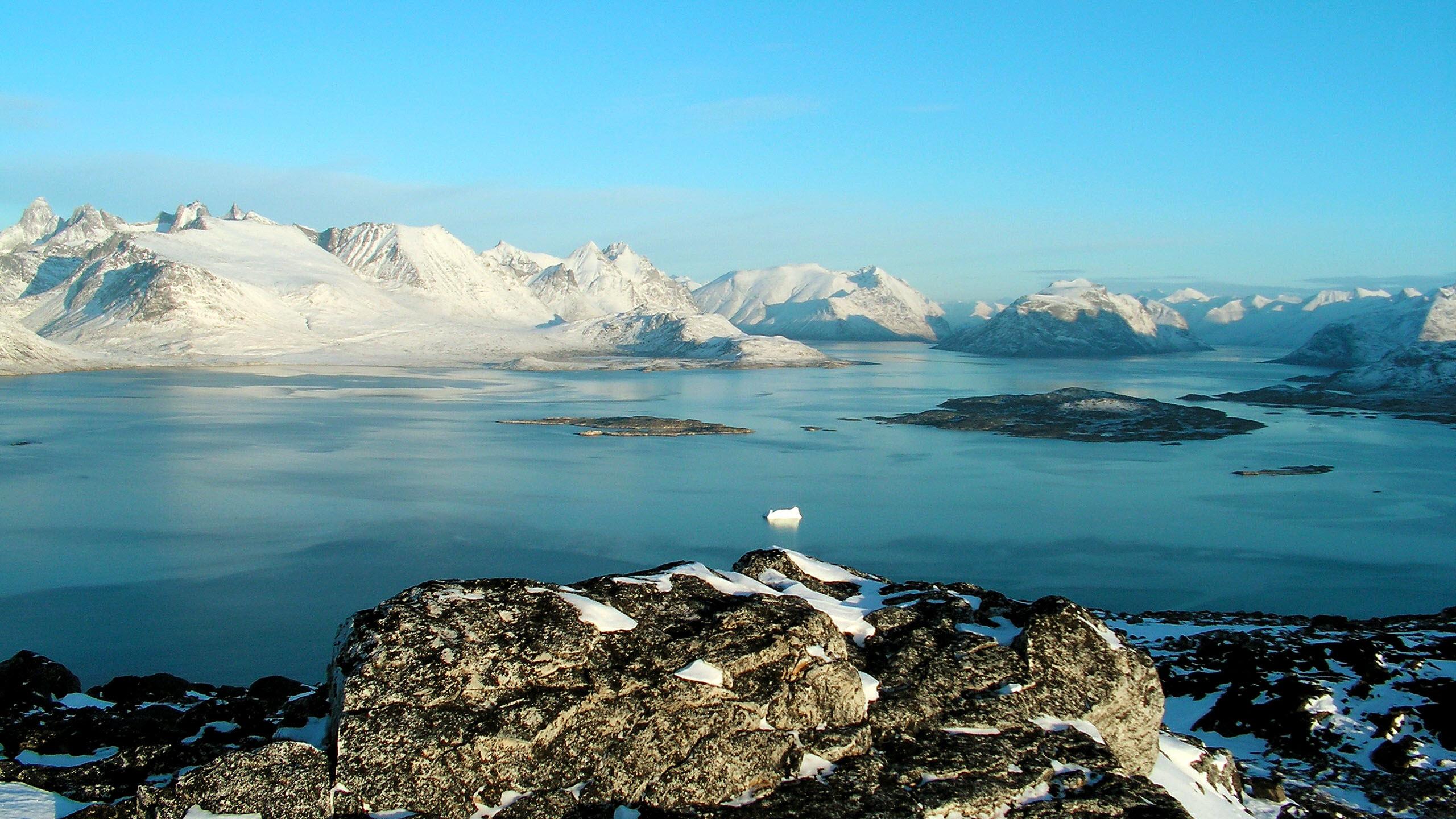 Hình nền phong cảnh Bắc Cực