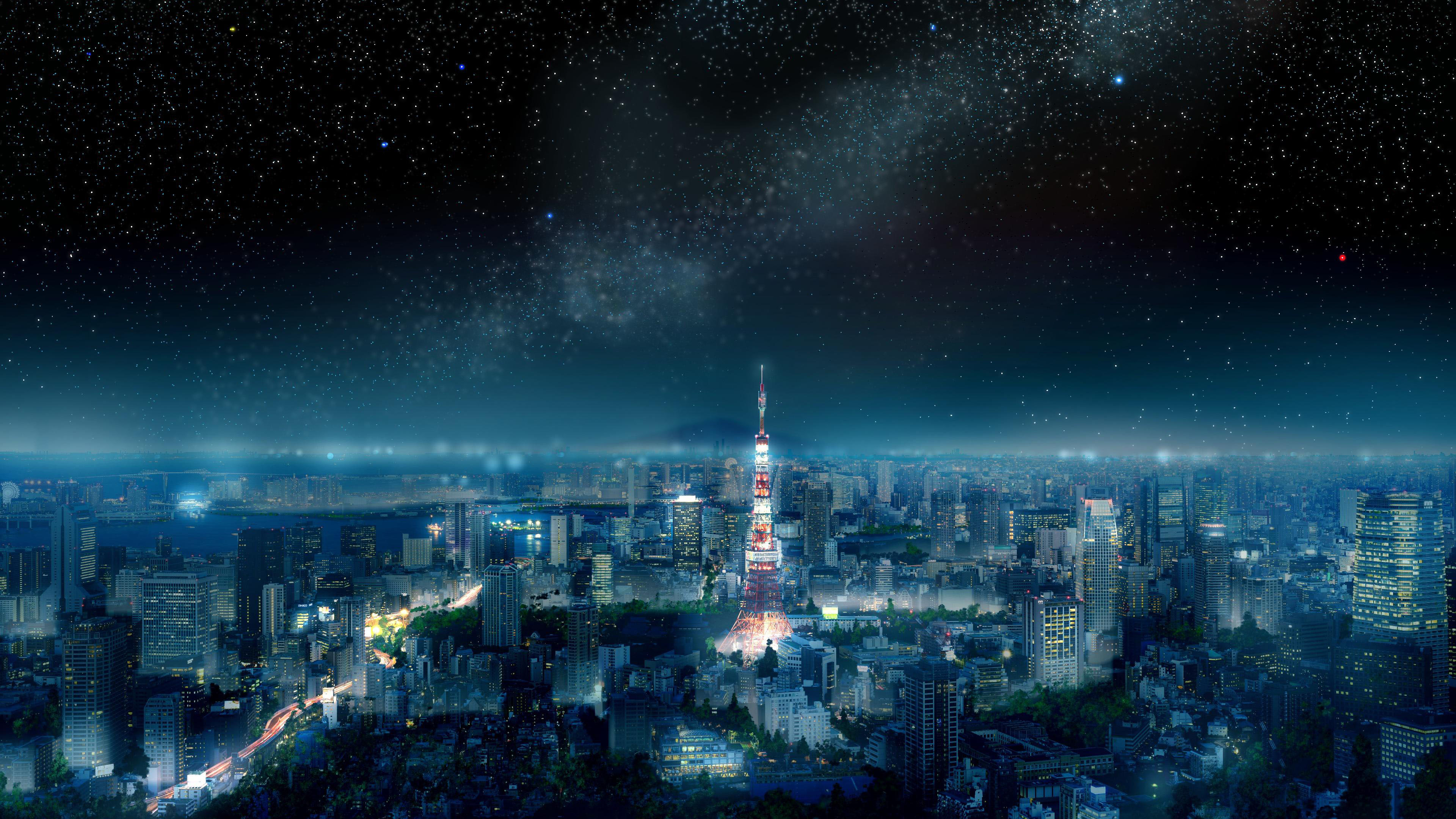 Hình nền phong cảnh thành phố