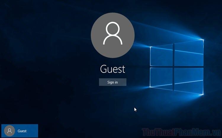 Hướng dẫn cách tạo User mới trên Windows 10
