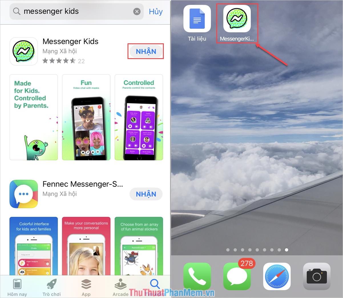 Tải về Messenger Kids