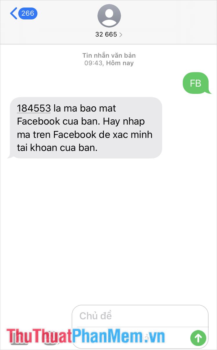 Tin nhắn chủ động