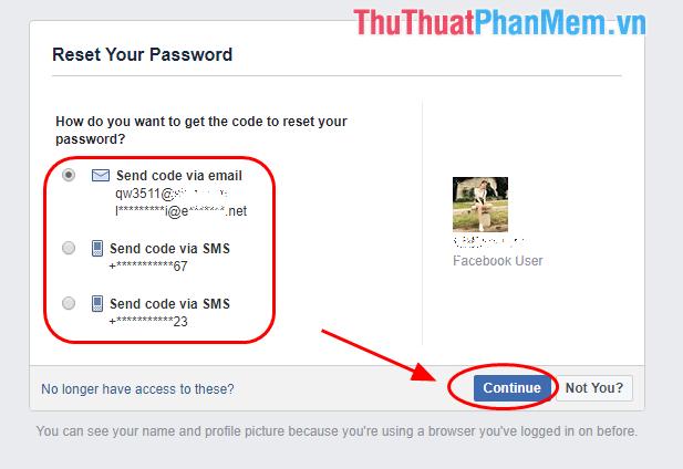 Truy cập Email để lấy mã xác nhận