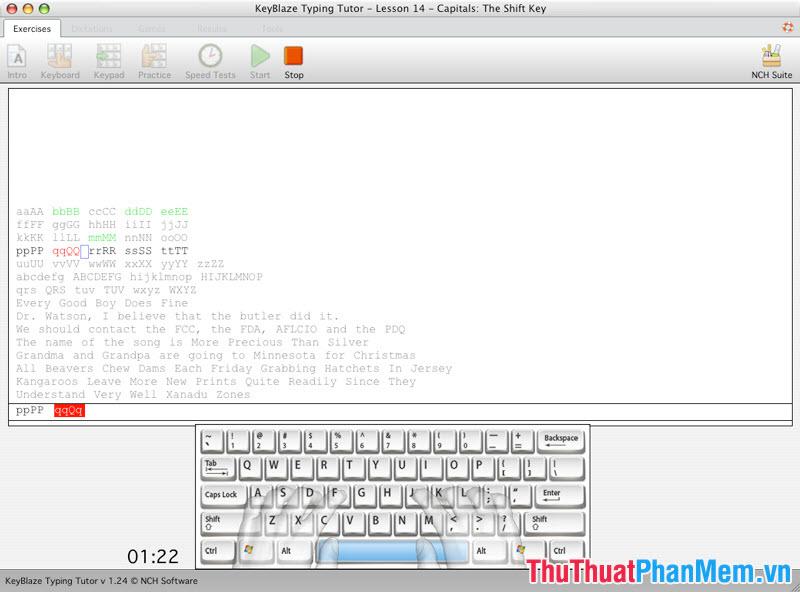 KeyBlaze Typing