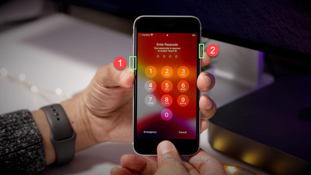Reset phím cứng cho iPhone 7 7Plus