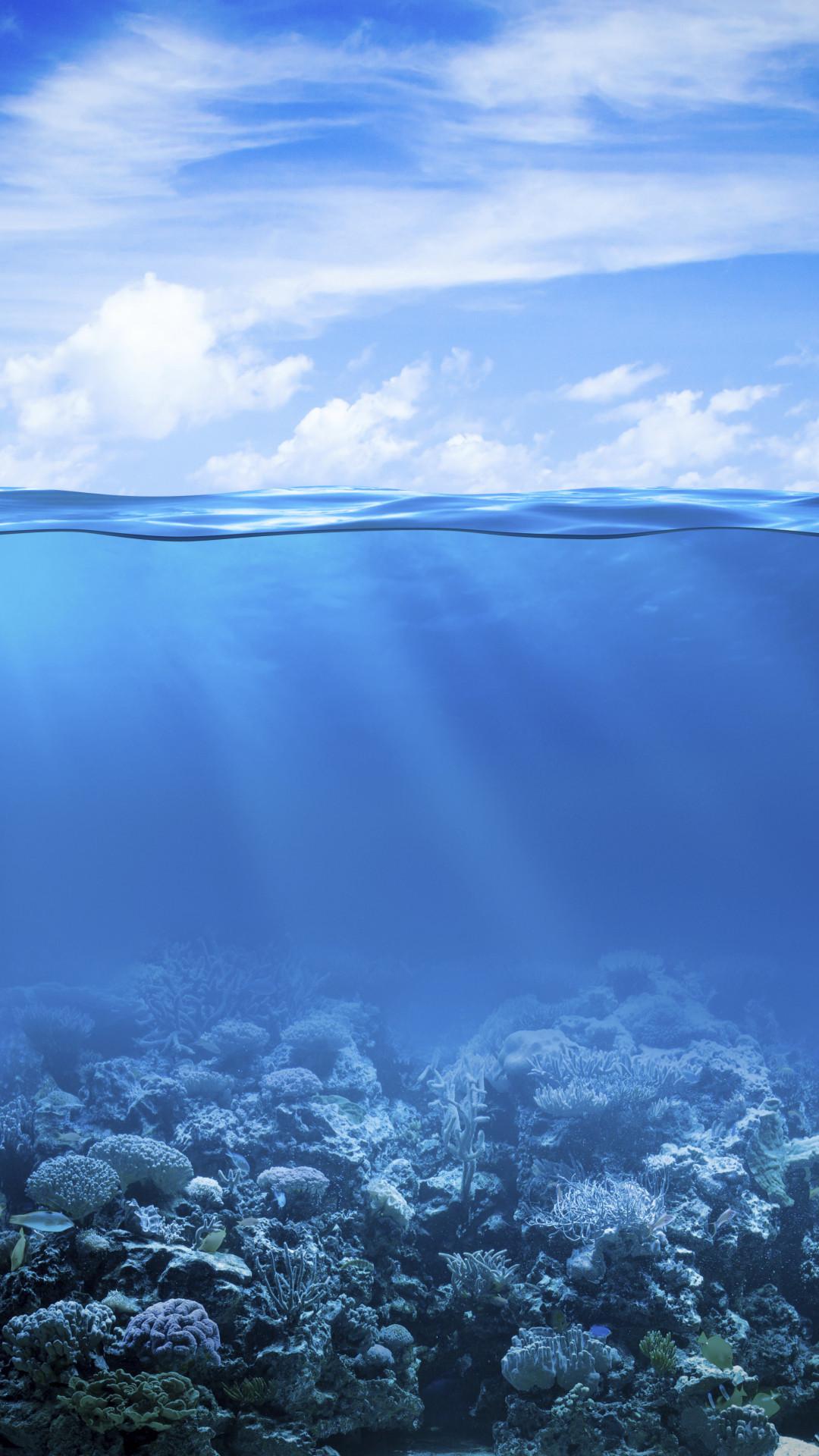 Ảnh nền biển xanh dương