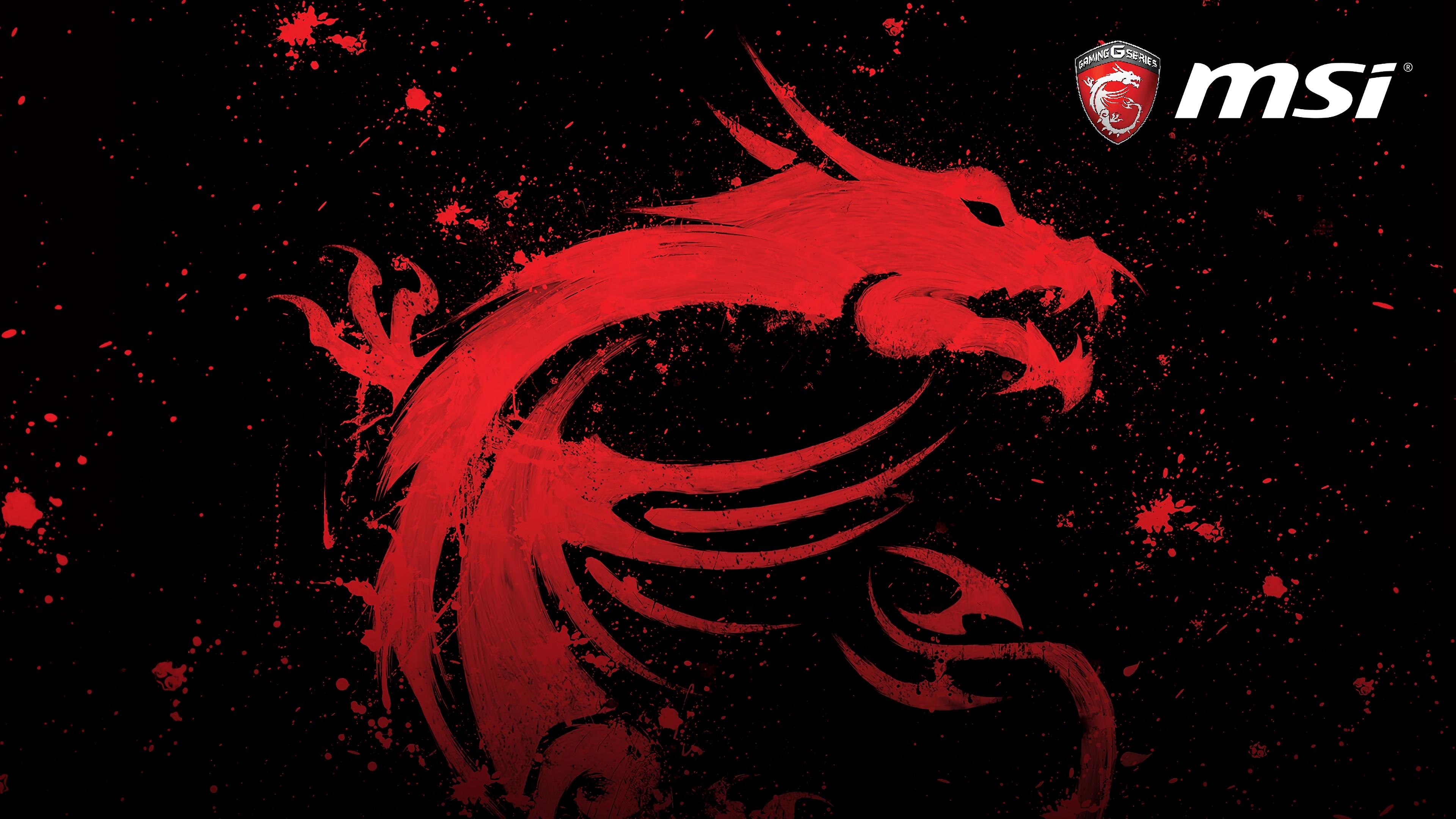Ảnh nền rồng đỏ MSI