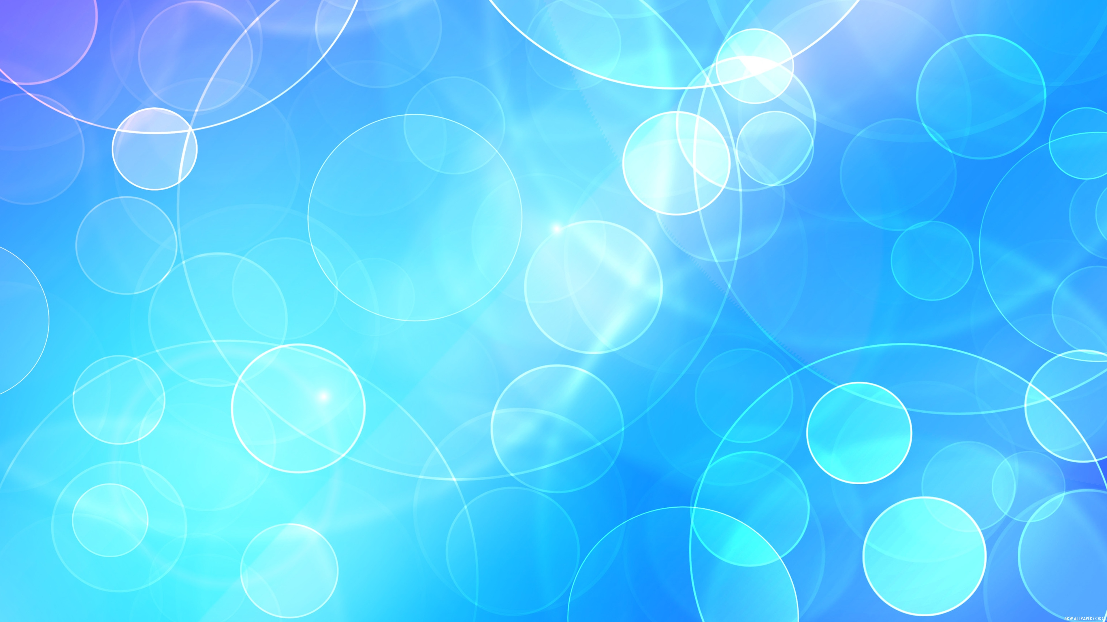 Ảnh nền xanh dương 4K