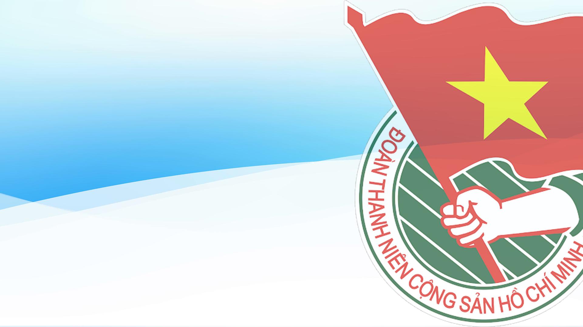 Background đoàn thanh niên Hồ Chí Minh đẹp