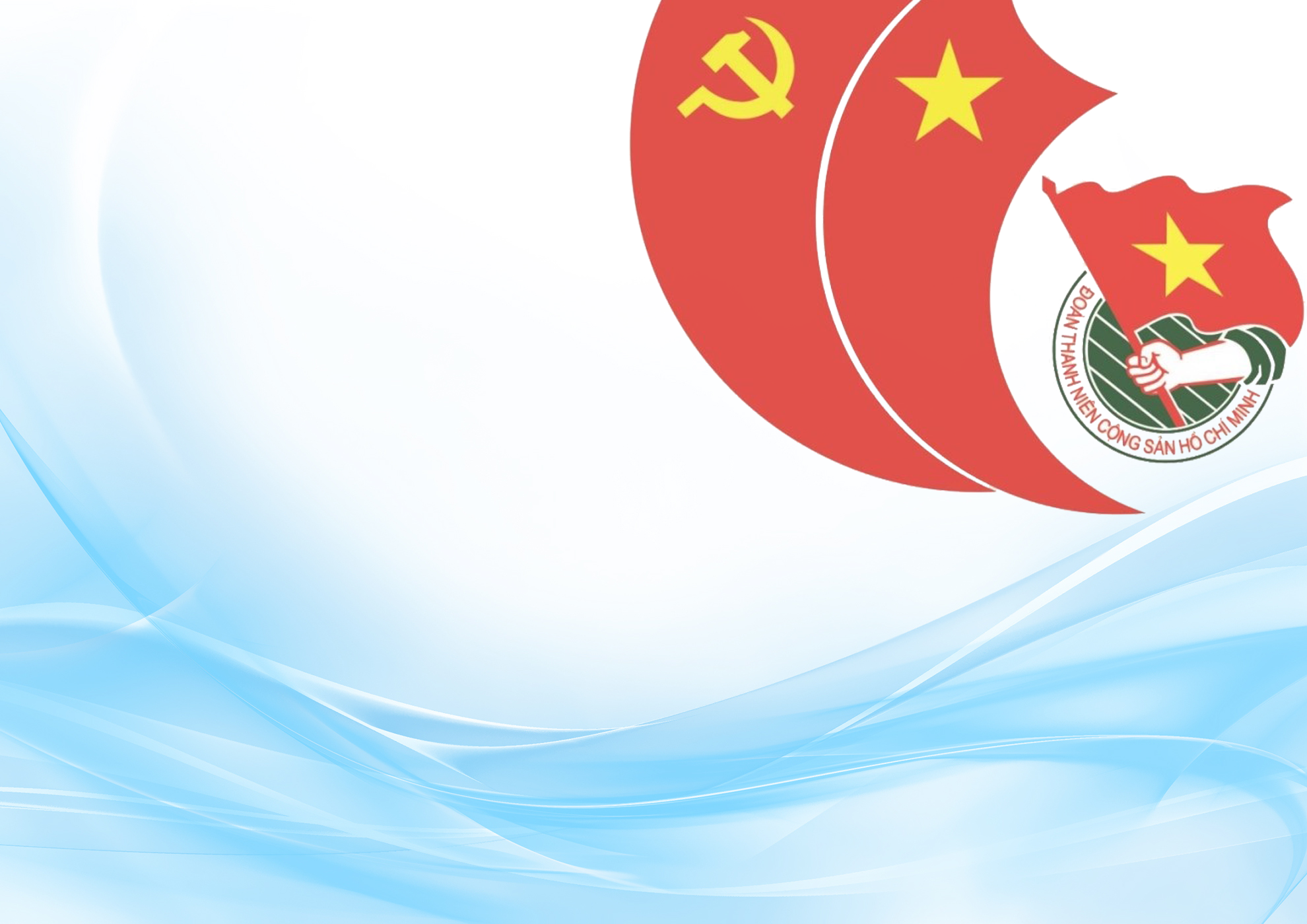 Background đoàn thanh niên Hồ Chí Minh