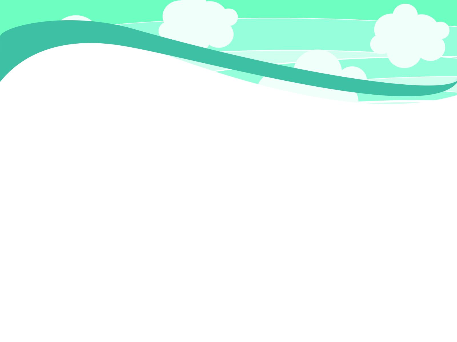 Hình nền Powerpoint mây trời sáng đẹp 1