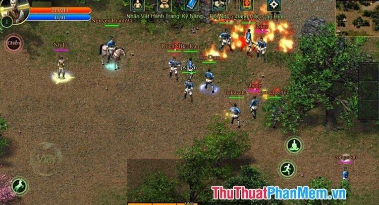 Tên nhân vật độc và lạ trong game Gunny, Võ Lâm, Kiếm thế