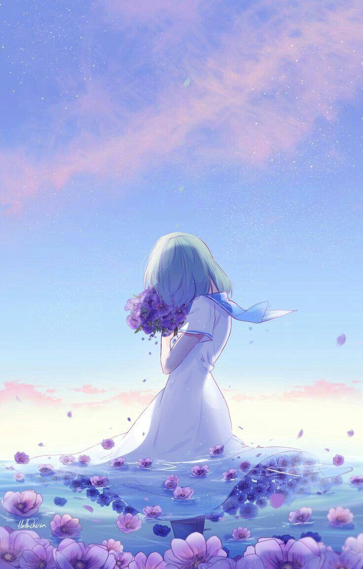 Ảnh anime cô đơn đẹp nhất