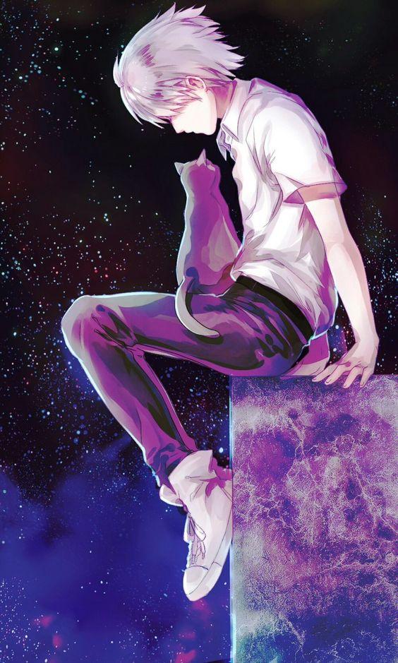 Ảnh anime cô đơn ngầu