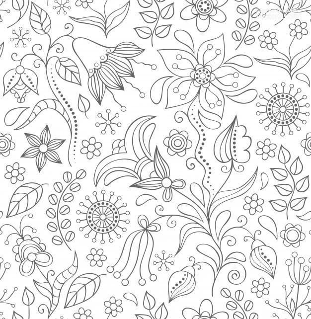 Ảnh background họa tiết hoa lá
