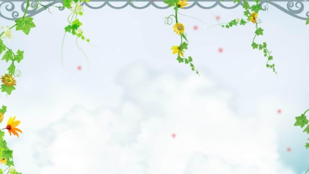 Background hoa lá cành